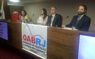 OAB/RJ REALIZA ÓTIMO SEMINÁRIO DE BIOÉTICA E DIREITOS DOS ANIMAIS