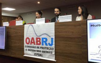 OAB/RJ recebe cientista Róber Bachinski em seminário sobre bioética e direito dos animais