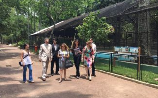 Comissão de Proteção e Defesa dos Animais da OAB vistoria zoológico do Rio