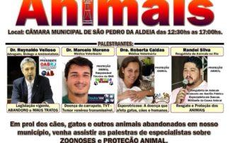 Fórum em São Pedro da Aldeia, RJ, discute proteção aos animais e zoonoses