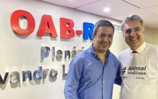 Animal Não é Coisa: Ricardo Izar convida Reynaldo Velloso para coordenar campanha no RJ