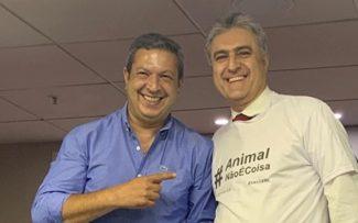 """Reynaldo Velloso é convidado para coordenar """"Animal Não é Coisa"""" no RJ."""