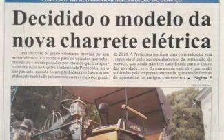Petrópolis: charretes elétricas