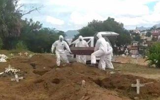Morte por Covid-19 muda rotina nos cemitérios do RJ