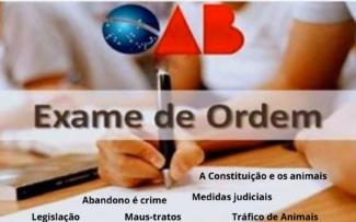 """OAB pode incluir """"Direito dos Animais""""no Exame de Ordem."""