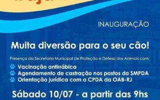 OABRJ oferece orientação jurídica sobre direito dos animais na inauguração do Parcão de Irajá